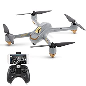 Xiangtat Hubsan H501M RC Drone Helicopter X4 WIFI FPV Brushless Drone with GPS Waypoints Follow Me Mode RC Quadcopter RTF with Remote by Xiangtat