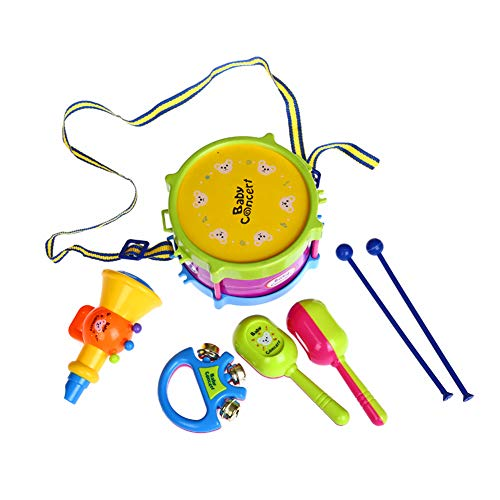 Bebé Instrumentos Musicales Juguetes Colorido Mini