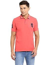 Red Tape Men's Solid Regular Fit T-Shirt