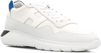 Hogan Scarpe Uomo Sneaker interactive3 HXM3710AJ10IGK422D Bianco-Blu