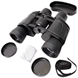 ADEPT PowerView Binoculars for Long Distance with Bag (8 X 40 Zoom)