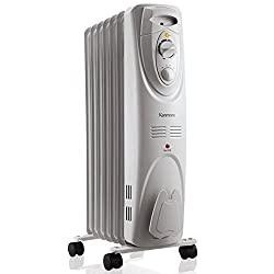 Kenmore Oil-filled Radiator Heater White - Large Room Heating