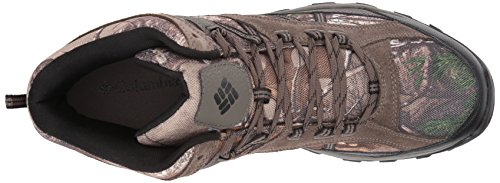 Columbia Mens Tangent Pass Mid Camo Hiking Boot Realtree Extra