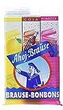 Ahoj-Brause Brause-Bonbon-Stangen – BrauseBonbons verpackt als Stange – 3 verschiedene Geschmacksrichtungen: Zitrone, Cola und Himbeere - 18er Pack (18 x 69 g)