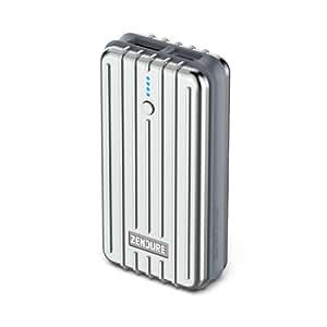 ZENDURE 2nd Gen A2 Emergenza Caricatore Portatile Batteria Esterna 6700mAh - Powerbank Durevole ed Estremamente Compatto 2.1A Max per iPad, iPhone, Samsung e altri iOS e Android (Argento)