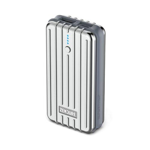 Zendure® 2nd Gen A2 caricabatteria portatile 6700mAh - estremamente resistente compatto e leggero batteria esterna e Banca di potere (2.1A Uscita massima con ZEN + Technology) per iPad, iPhone, Samsung e altro ancora - Argento
