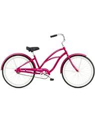 "Electra Coaster 1 - Bicicleta urbana para mujer (26""), color rosa"