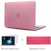 Batianda Mate Posa Funda para MacBook Pro 13 pulgadas 2016 & 2017 Rígida Protector de Plástico para el de Nuevo MacBook Pro 13 pulgadas Non Touch Bar A1708