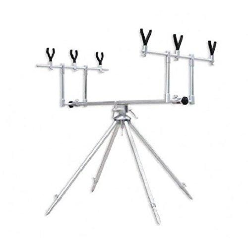 Rod Pod Orientable 3 Cannnes Special Stabilité avec 4 Pieds + Fourreau Tissu