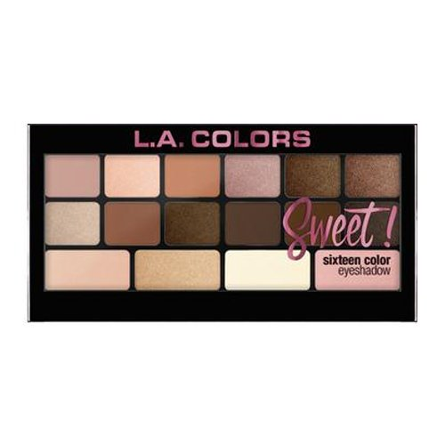 (3 Pack) L.A. Colors Sweet! 16 Color Eyeshadow Palette - Charming (Für Sweet Ideen 16)