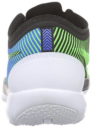 Nike Free Trainer 3.0 V4 Herren Hallenschuhe Mehrfarbig (Black/Green Strike-Soar-White 034)