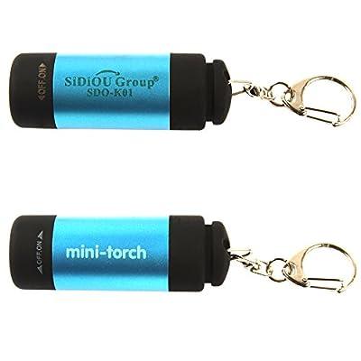 Sidiou Group Mini 7W 300lm Cree LED Taschenlampe Einstellbarer Fokus Zoom Licht Lampe