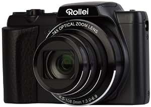 Rollei 240 HD Powerflex Digitalkamera (7,6 cm (3 Zoll) LCD-Display, 16 Megapixel, 24x opt. Zoom, USB 2.0) schwarz