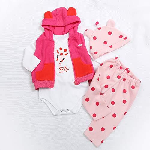 TERABITHIA 5 Zwei Größen 47 oder 60 cm Hochwertige Neugeborene Puppen Kleid Wiedergeboren Baby Puppe Alle Baumwollkleidung