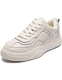 SimpleC Botas de Nieve Calentar Otoño Invierno Botines Outdoor Trekking Zapatos Tobillo Forro Piel Sneakers para