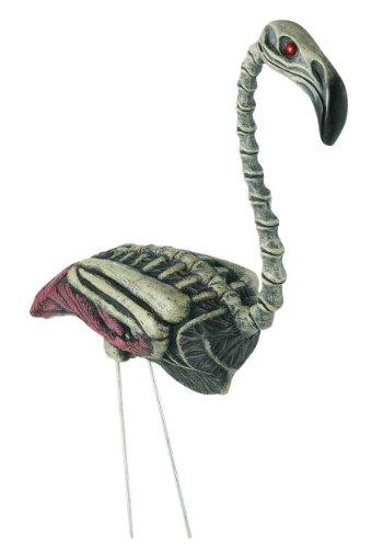 Zombie Flamingo Lawn Ornament (Accessoires)