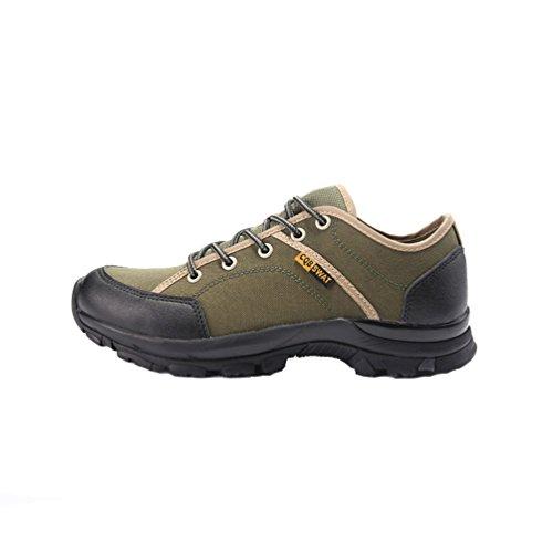 XIGUAFR Casual Chaussures de Toile Chaussures de Randonnée Hommes et Femmes Collision Anti-Dérapant Résistant à L'Usure