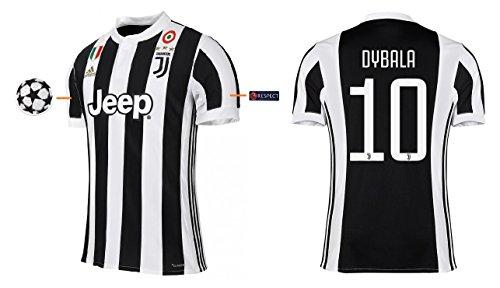 Trikot Kinder Juventus Turin 2017-2018 Home UCL - Dybala 10 (164)