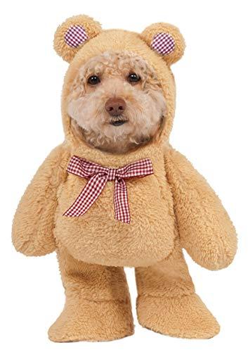Rubie 's Walking Teddy Bär Pet Kostüm, XS