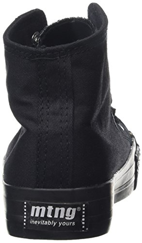 MTNG Attitude tennis - Sneakers CANVAS FINO NEGRO / PISO NEGRO