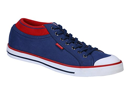 Woodland Men's Navy Casual Sneakers 8 UK  available at amazon for Rs.1537