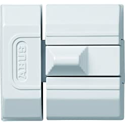 Abus SR 30 W SB – Dispositivo Anti-intrusione a Scorrimento, Colore: Bianco