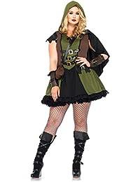 Leg Avenue Robin des Bois Déguisement Femme Vert Taille 1X-2X