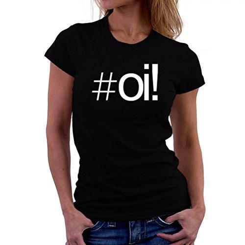 Maglietta da donna Hashtag Oi!