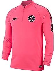 Nike PSG M NK Dry Sqd Dril Top T-Shirt à Manches Longues Homme