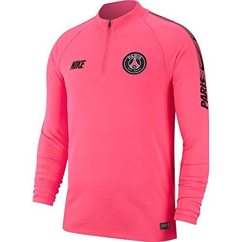 reputable site 5f096 ff1cc Nike PSG M NK Dry SQD DRIL Top T-Shirt à Manches Longues Homme,