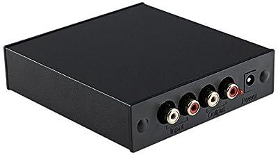 Rega Fono Mini A2D Home Wired Black audio amplifier - audio amplifiers (78 dB, 5 mV, 500 mV, RCA, 24 V, 102 mm) in offerta da Polaris Audio Hi Fi