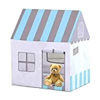 Beneyond Kids Play tent,Children Teepee,Childrens tent,Princess castle Play tent house,Indoor,Outdoor,Baby Toy House,Infant Playhouse,is the Best for Boys and Girls (Blue)