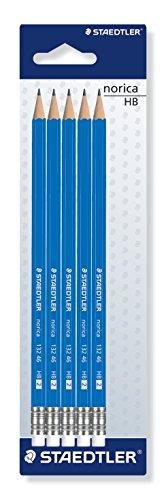 Staedtler Norica Eraser Tipped Pencil (Pack of (Eraser Di Matita)