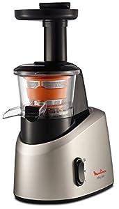 frio: Moulinex Infiny Juice ZU255B - Licuadora, tecnología de prensado en frío, zumo y...