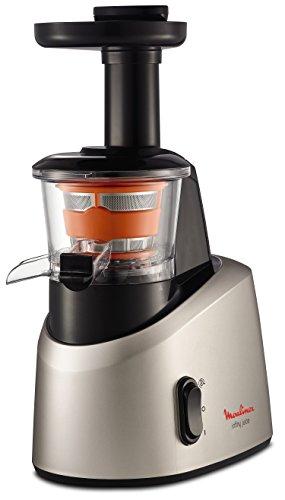 Moulinex Infiny Juice ZU255B - Licuadora, tecnología de prensado en frío, zumo y pulpa se separan...