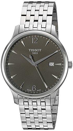 Tissot T0636101106700 – Reloj de pulsera hombre, acero inoxidable, color Plata