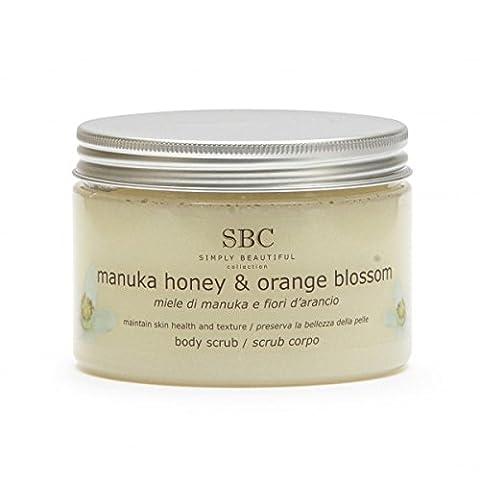 SBC de miel de Manuka et gommage pour le corps à la fleur d'Oranger - 500 g