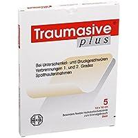 TRAUMASIVE plus 10x10 cm Hyd 5 St Verband preisvergleich bei billige-tabletten.eu