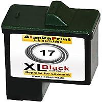Premium cartucce di inchiostro compatibile con Lexmark 17xl nero Black