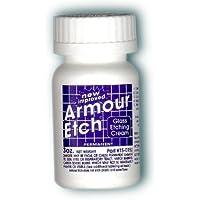 Armour Ätzcreme für Glas und Spiegel ist sicher und einfach zu verwenden. (2 Stück)