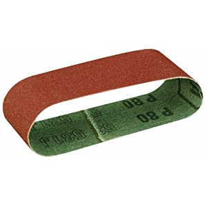 Proxxon 28922 Corundum sanding belts grit 80 - 5 pieces for BBS/S