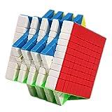 NFHNBABO El Cubo De Rubik 9X9 Cube Speed Cube Puzzle 9X9X9 Negro No Sticker 9 * 9 * 9 Juguetes Educativos para Adultos para Niños