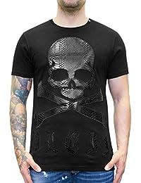 e7b1dc44e0863 Philipp Plein - MY Way - Skull Print T-Shirt - Camiseta Calavera
