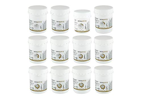 Schüssler Salze Set Nr. 1-12 (11x1000 + 1x400 Tabletten) * glutenfrei * hergestellt nach HAB in Deutschland (11x1000 + 1x400 Tabletten)