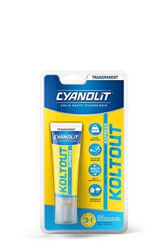 Cyanolit 33300158 Cyanolit Koltout 33300160 Kleber/Spachtelmasse, Tube, 50°ml, transparent