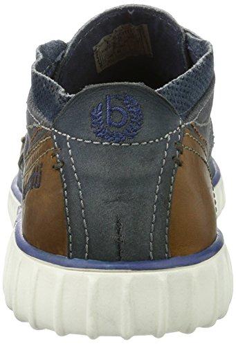 bugatti Herren K3732pr58 Sneaker Blau (Blau / Braun)