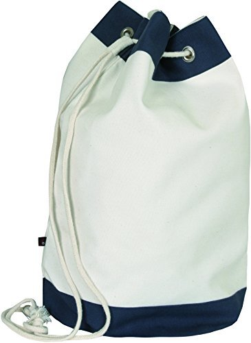 naturwaren-online.de Canvas Sailing Bag - Matchsack aus Canvas - natur/navy