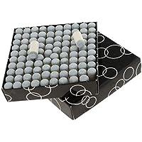 Sharplace 100 Unidades de Puntas para Tacos de Billar Hecho de Plástico y Cuero - 13 mm
