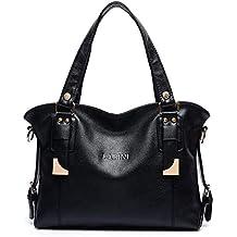 bc2d529072bfc LABINI weibliche Handtasche Cross-Body Schultertasche große Kapazität  Rindleder modische Outdoor-Reisen Freizeit Einkaufen