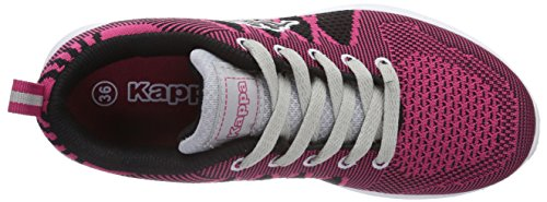 Kappa Fenix, Baskets Basses mixte adulte Rose - Pink (2214 Pink/L`Grey)